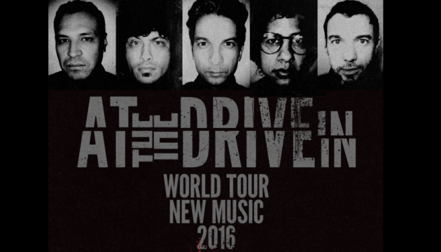 At The Drive-In Reunion Tour and New Music