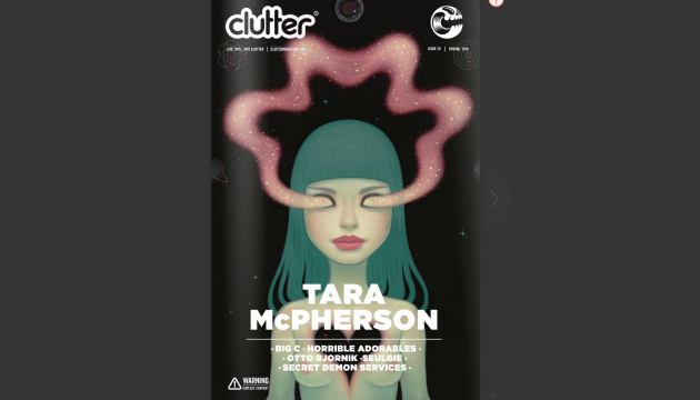 Read Issue 38 online for FREE now! - Tara McPherson