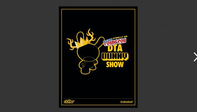 NYCC DTA DUNNY SHOW Catalog!