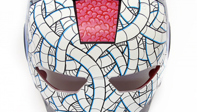 sekure d iron man mask