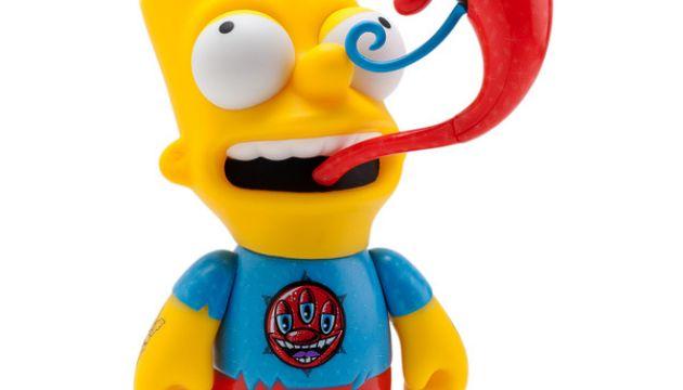 Kidrobot x Kenny Scharf Bart Simpson Figure
