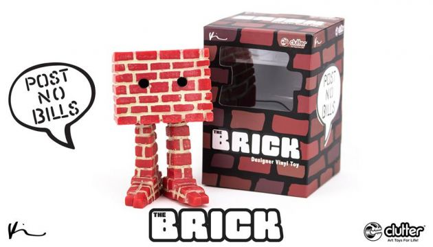The Brick Designer Toy by Kyle Kirwan