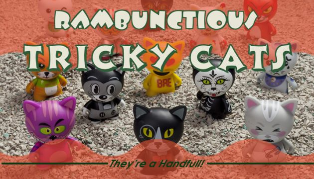 Kidrobot's Tricky Cats series available now!