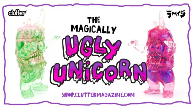 The Magically Ugly Unicorn! Deathchops x Rampage Toys