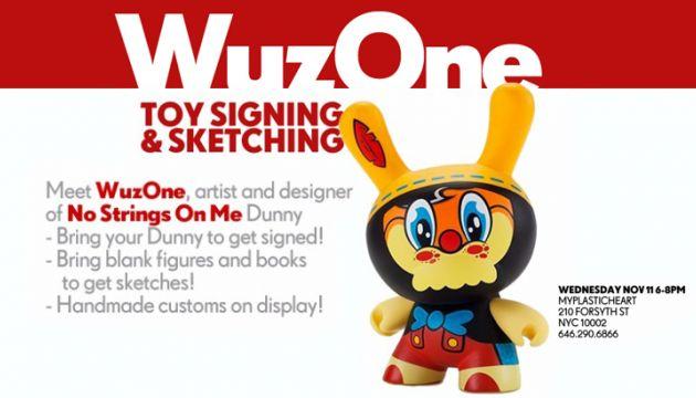 WuzOne comes to myplasticheart!