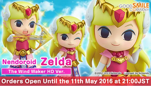 Wind Waker Nendoroid Zelda