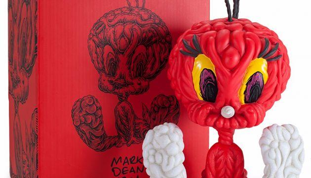 Limited Edition Mark Dean Veca Tweety Bird Vinyl Toy