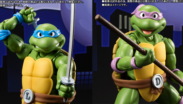 TMNT Teenage Mutant Ninja Turtles Bandai Tamashii Nations S.H. Figuarts