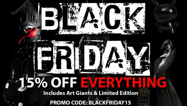 Black Friday at Kidrobot