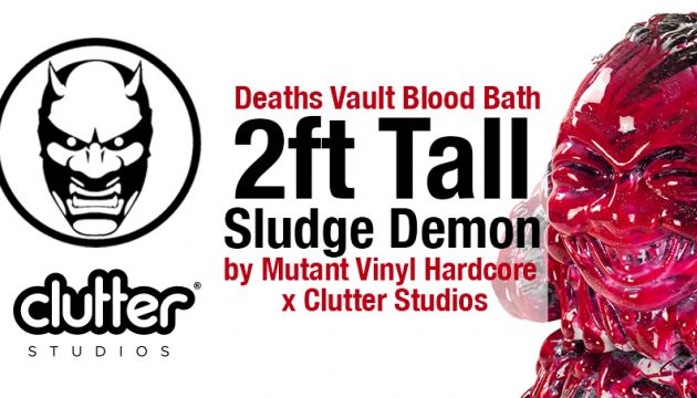 Epic 2ft Tall Sludge Demon: Deaths Vault Blood Bath Edition!