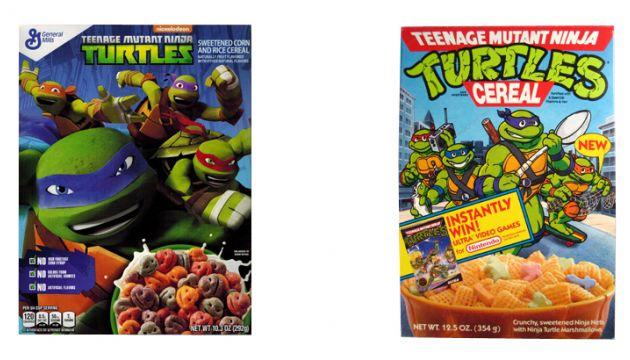 TMNT Cereals