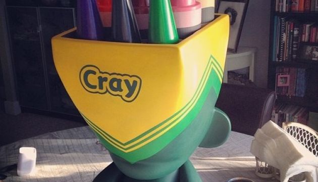 crayola mega munny by carl medley