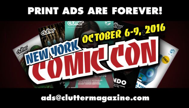 Reserve your ad space NOW for our NYCC Issue!