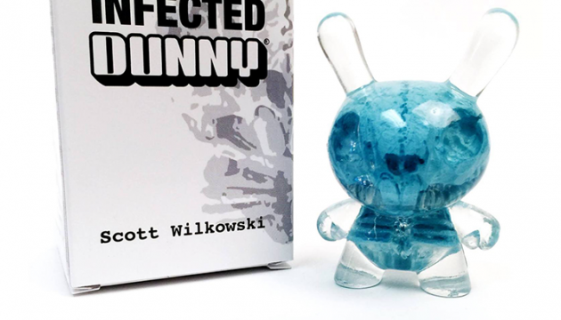 Cryogenic Blue Infected Dunny Drops Tomorrow at Kidrobot