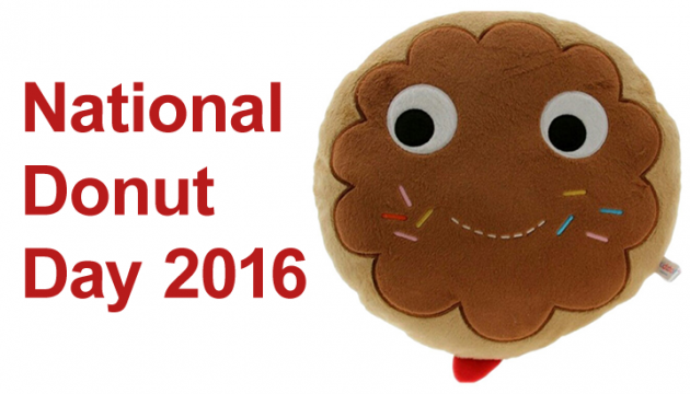 MMMMMM National Donut Day 2016