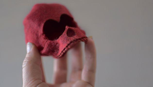 Lana Crooks x Scott Tolleson; Cardiocloptic Skull
