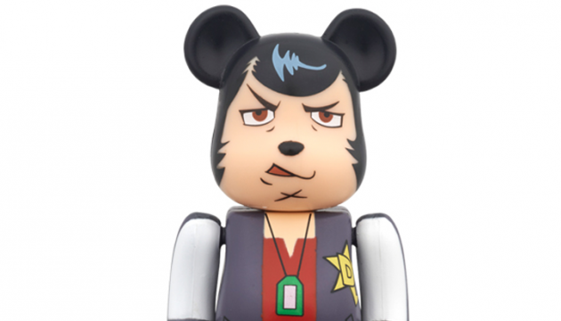 space dandy bearbrick