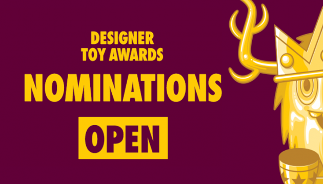 Toys For Awards : Designer toy awards clutter magazine