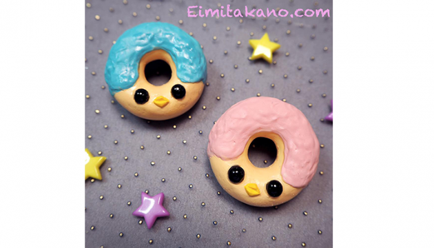Eimi Takano Donut Badges & Necklaces