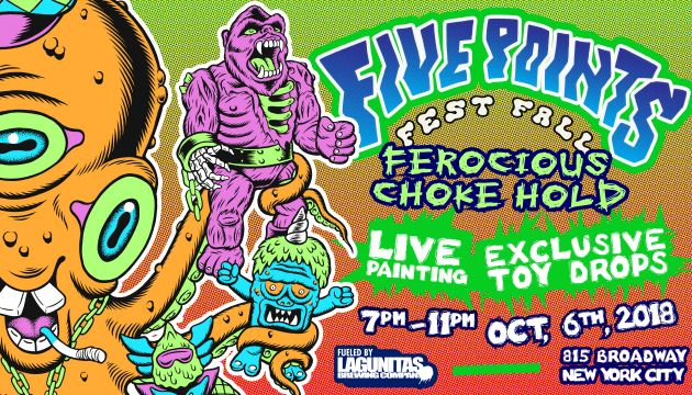 Saturday, October 6th 7pm-11pm Ferocious Choke Hold!