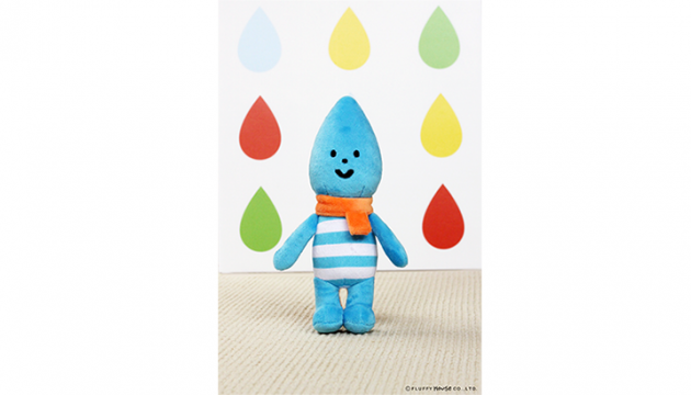 Fluffy House Little Raindrop Plush
