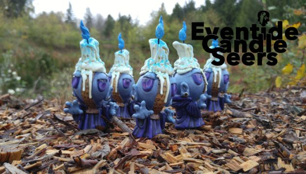 "fplus's ""Eventide Candle Seers"" for DesignerCon!"