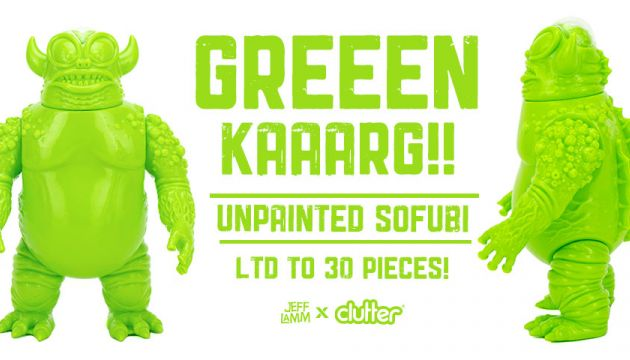 GREEEN KAAARG by Jeff Lamm x Clutter