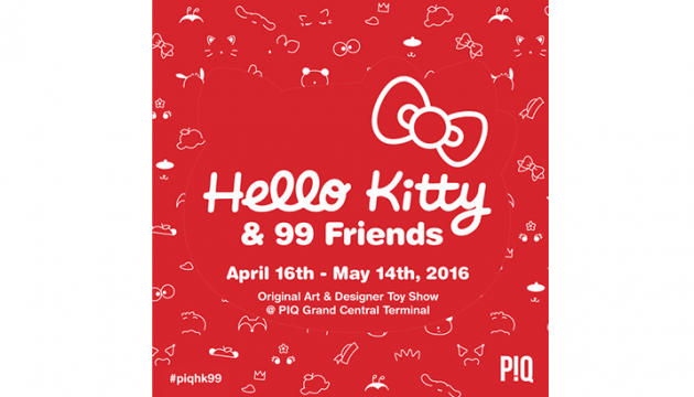 Hello Kitty & 99 Friends at PIQ Grand Central