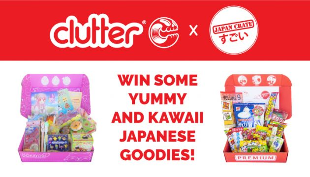 Clutter x Japan Crate – Win Some Yummy and Kawaii Stuff!