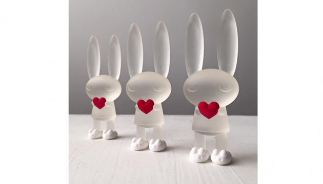 Peter Kato Clear Valentine Bunnie Raffle Winners!