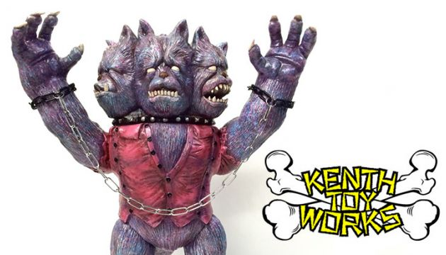 "Mail Order your GEEK! x KENTH TOY WORKS ""Kerberosman"" Kenth Custom Today!"