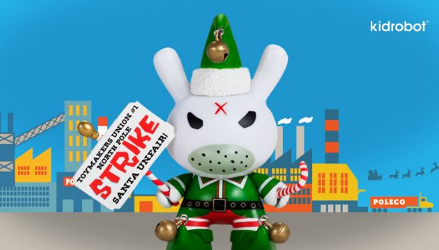 It's Christmas at Kidrobot!
