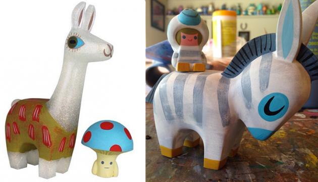 Amanda Visell & Michelle Valigura Resin Toys