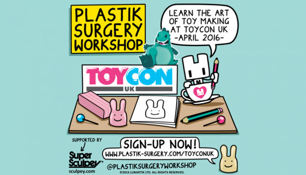 Lunartik at ToyCon UK
