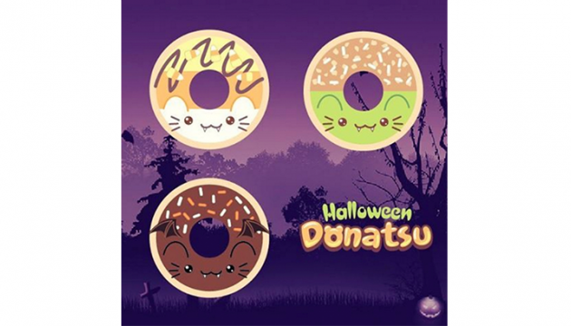 MJ Hsu Halloween Donatsu Coming Soon