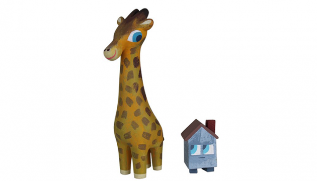Amanda Visell & Michelle Valigura Giraffe and House Set