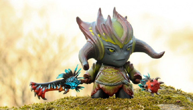 Warden of the Grove Custom Munny by Fiona Ng