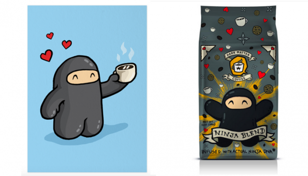 Shawnimals Ninja Blend Coffee