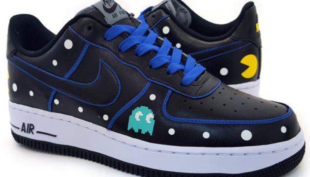 97297a2d7ee5 Custom Pac-Man Nike Air Force 1 Low Sneakers by Sekure D