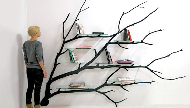 Tree Shelves by Sebastian Errazuriz