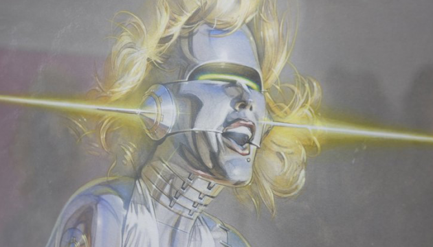 Sorayama Does Marilyn Monroe