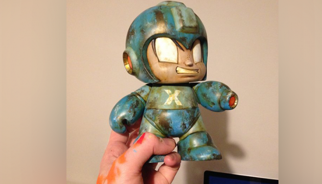 WIP | Custom Kidrobot Mega Man by Squink