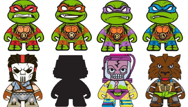 New TMNT Blindbox Series from Kidrobot This Summer