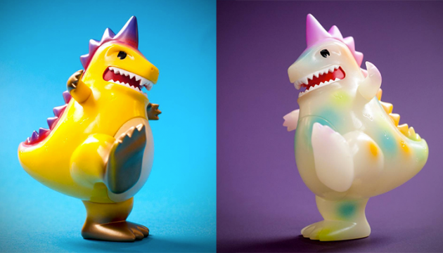 ToyCon UK 2017 T-Con The Toyconosaurus Variants