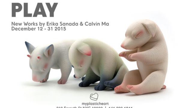 Play: Calvin Ma & Erika Sanada Exhibit at myplasticheart