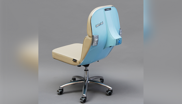 Vespa Office Chairs by BEL & BEL