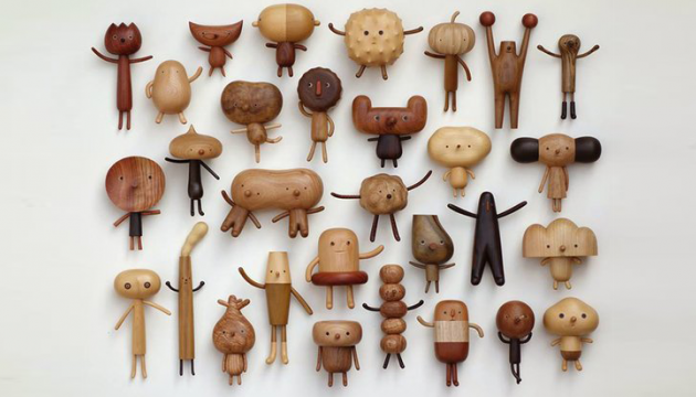 Wood Toys by Yen Jui-Lin