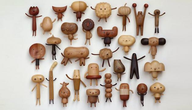 Wood Toys by Yen Jui-Lin