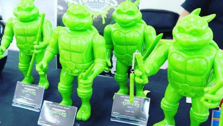 TMNT Teenage Mutant Ninja Turtles Sofubi Toy Series by Dune