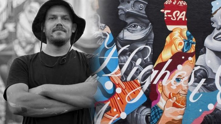 Tristan Eaton, Shepard Fairey, Futura, London Police Launch Painted Oceans Kickstarter
